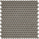 HARMONY Calm Grey Matt Hexagon Mosaic Tile Sheet 29 x 29cm