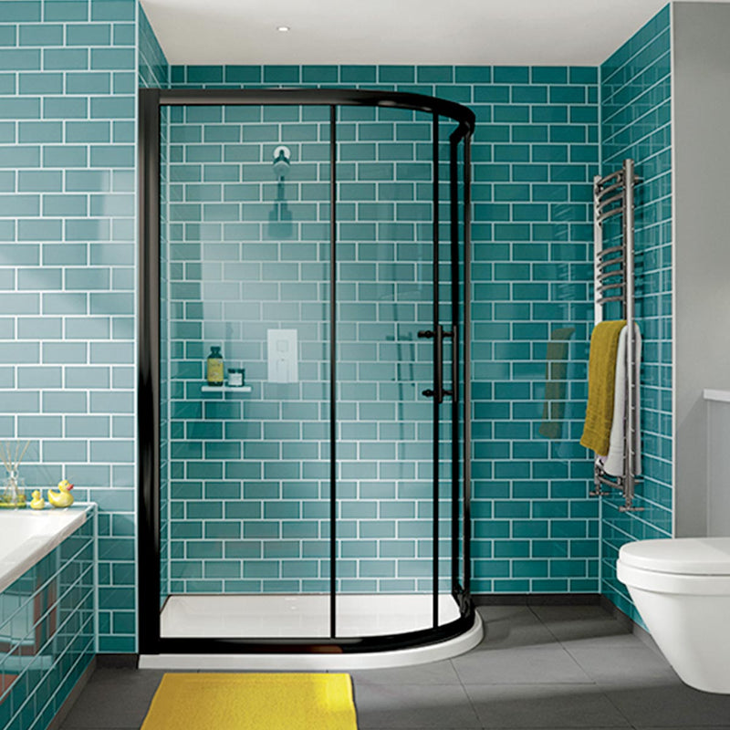 iFOUR Two Door Offset Quadrant Shower Enclosure