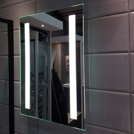 Deluxe Kala LED Mirror 500x700mm with Shaver Socket