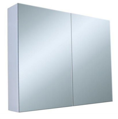 Granlusso Two Door Mirror Cabinet Gloss Finish