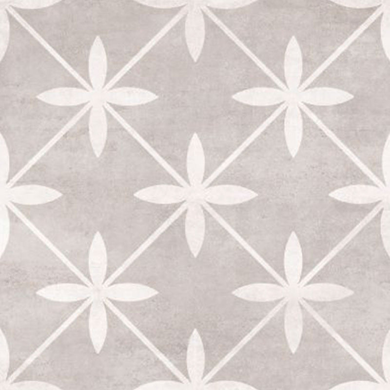 Laura Ashley Wicker Dove Grey Floor And Wall Tile 33cm x 33cm