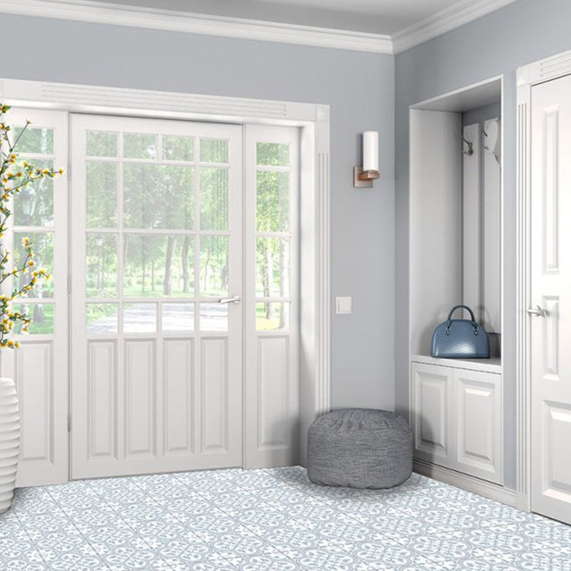 Ledbury Powder Blue Wall & Floor Porcelain Tile 45 x 45cm