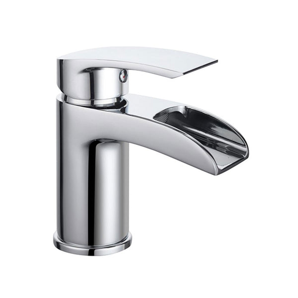 Deluxe Manly Chrome Open Spout Basin Mixer