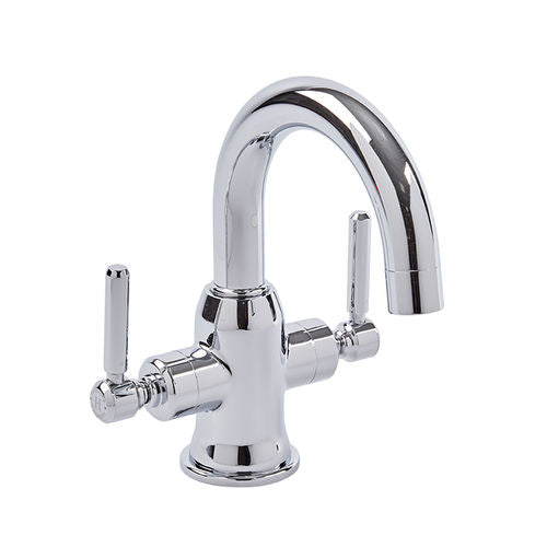 Marston Basin Mixer With Click-Clack Waste - Chrome