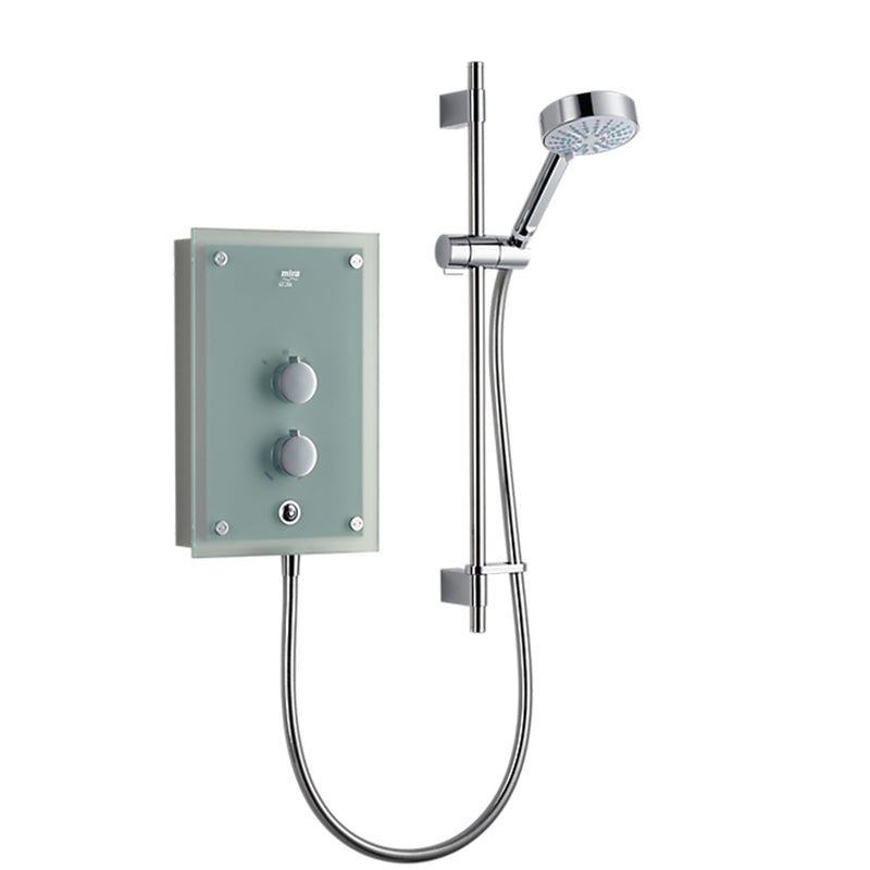 Mira Azora Frosted Glass Electric Shower 9.8kW