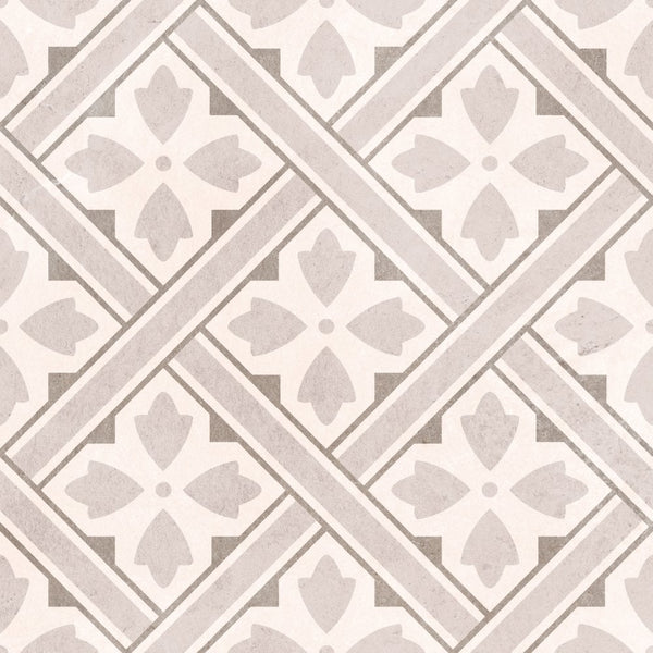Laura Ashley Mr Jones Dove Grey Floor Tile 33cm x 33cm