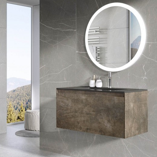 Deluxe Orion Wall Hung Vanity Unit With Basin