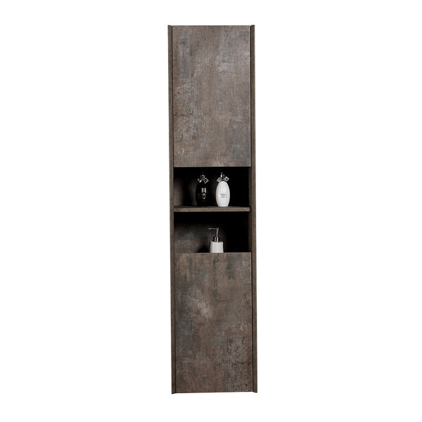Deluxe Orion Wall Hung Tall Storage Cabinet