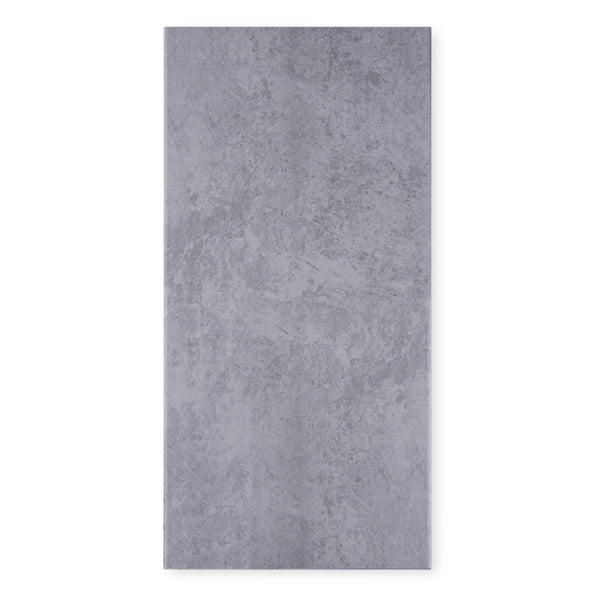 Riva Dark Grey Stone Effect Matt Porcelain Tile 60 x 30cm