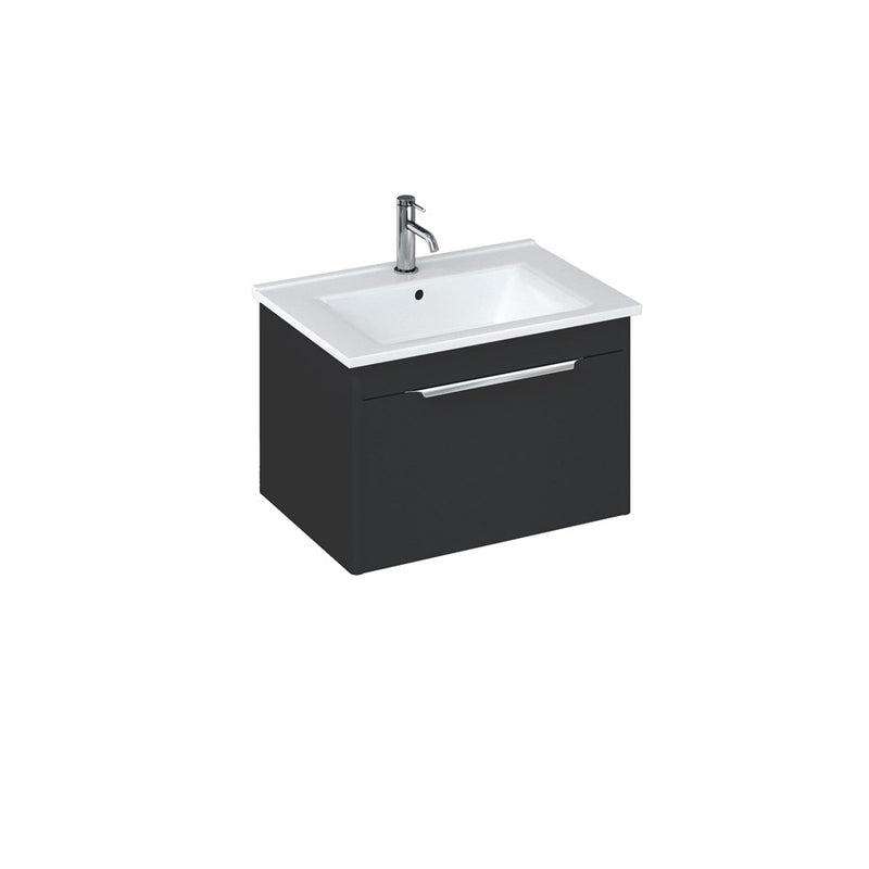 Shoreditch Single Drawer Wall Hung Vanity Unit With Basin
