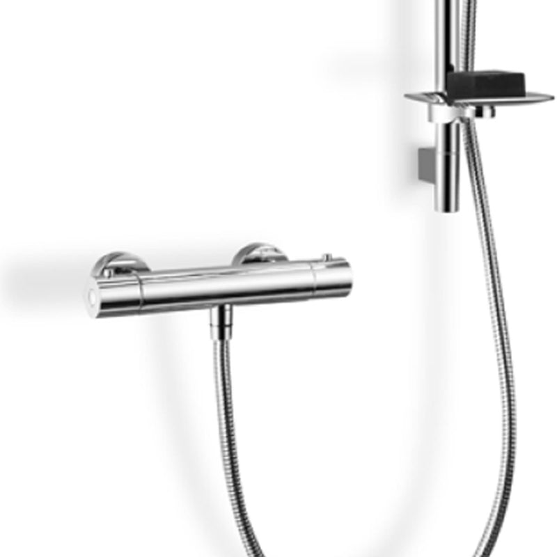 Fabo Thermostatic Bar Valve Shower Kit With Easy Fix Brackets