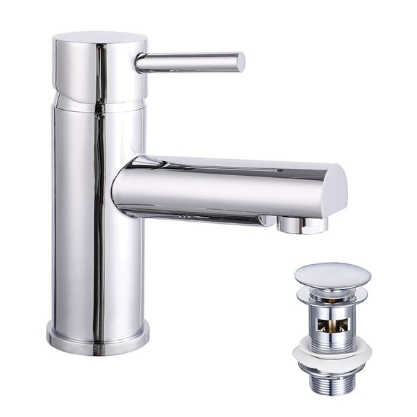Granlusso Venice Basin Mixer With Click-Clack Waste Chrome