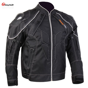 Motorcycle Men's Protecitve Jackets Carbon fiber Shoulder Street Road clothing Motocross Body Armour Gear guards Jackets