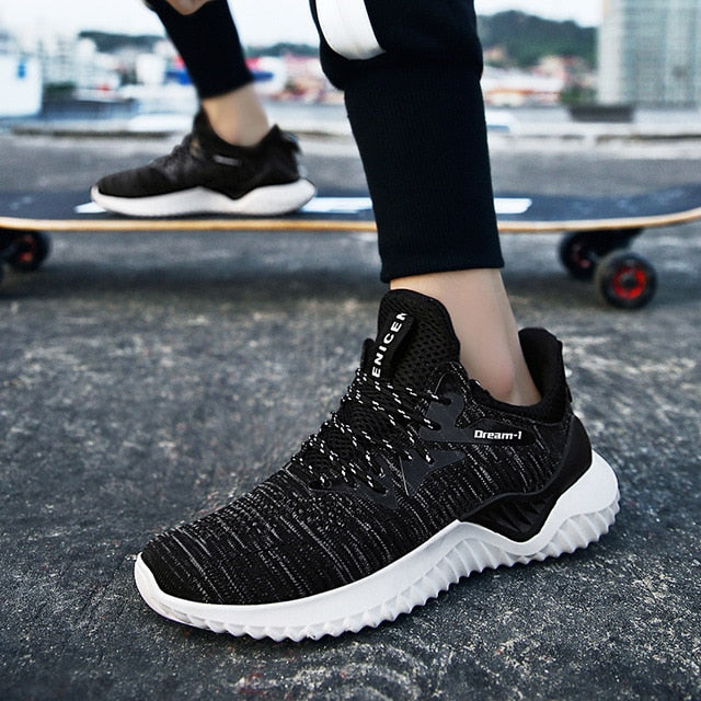 Men Vulcanize Shoes Lightweight Breathable Flats Men Shoes Loafers Casual Shoes Men Trainers Sneakers 2019