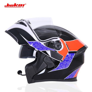 2019 NEW Motorcycle helmet bluetooth Racing Modular Dual Lens Helmet Headgear Casque Capacete Casco dot Capacete Casque