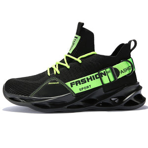 2020 New Flying Weave Super Light Men's Running Shoe Outdoor Sport Shoes Mens Cushioning Non-slip Mesh Walking Shoes Men Sneaker