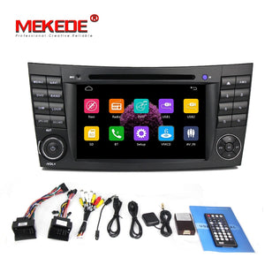 Free Shipping 7inch screen Car Radio multimedia player For Benz/E-Class/W211/E300/CLK/W209/CLS/W219 With GPS Navi BT DVD 1080P