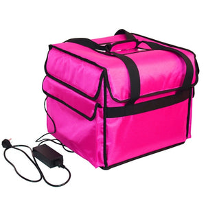 12V pizza insulation package thermostat heated suitcase Ice pack travel takeaway box lunch bag food delivery handbag waterproof