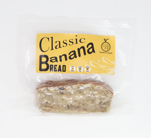 Classic Banana Bread Slices