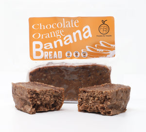Chocolate Orange Banana Bread Slices
