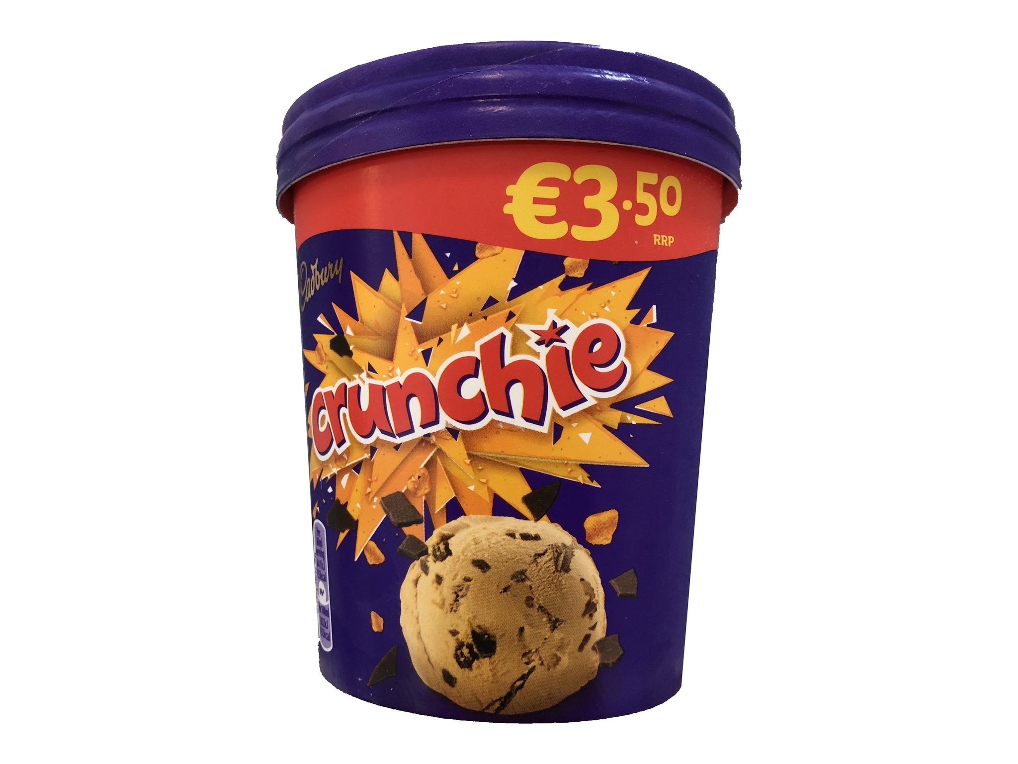 Crunchie 480ml Tub