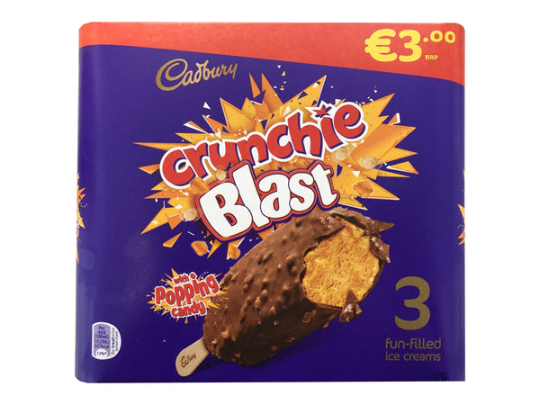 Crunchie Blast 3pk Early Days Delivered