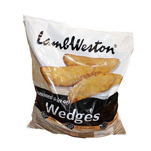 Lamb Weston Potato Wedges 2.5kg (€0.30/100g) Early Days Delivered