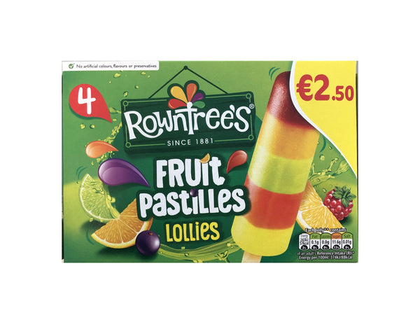 Rowntree Fruit Pastile 4pk Early Days Delivered