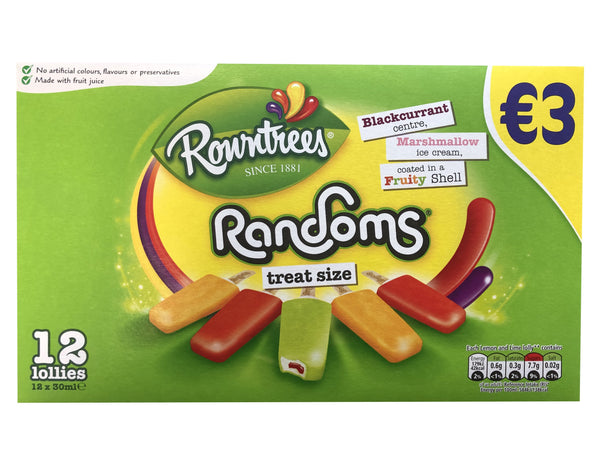 Rowntree Random 12pk Early Days Delivered