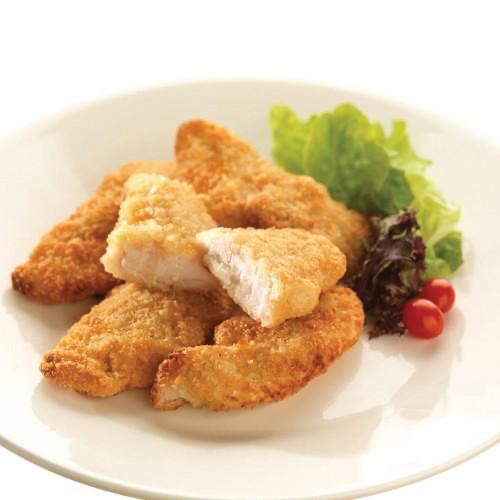 Vista Breaded Chicken Goujons 1kg (€0.93/100g)