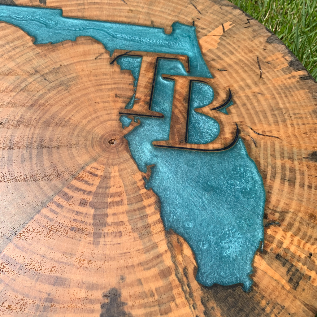 Tampa Bay Tree Cookie
