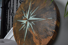 Load image into Gallery viewer, Tree Cookie Compass Rose