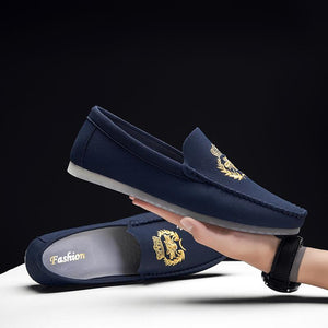 Arminio Embroidered Loafers