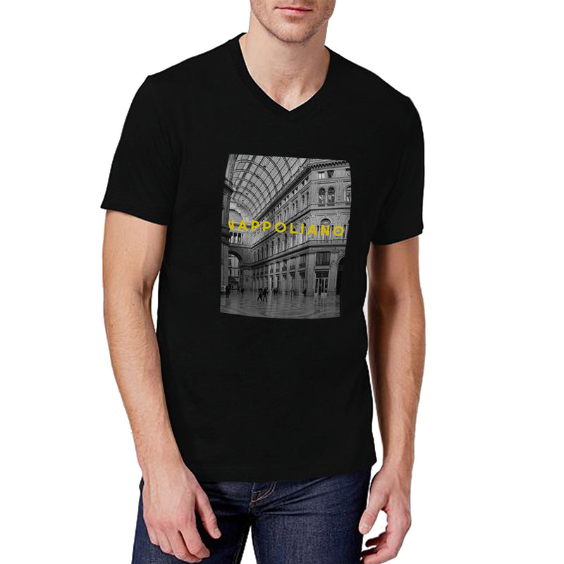 Nappoliano's Hall V-Neck T-Shirt