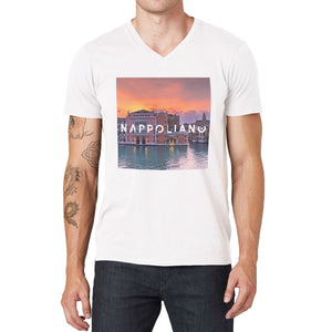 Golden Hour V-Neck T-Shirt