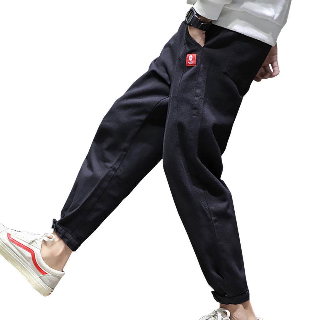 Casual Tapered Fit Pants