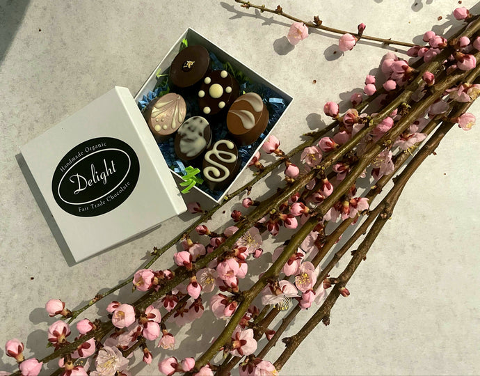 Delight Chocolates and Fruit Tree Blossoms