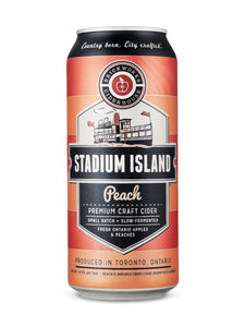 Brickworks Ciderhouse Stadium Island Peach Cider