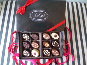 Delight Box of 12 Valentine's Day Chocolates