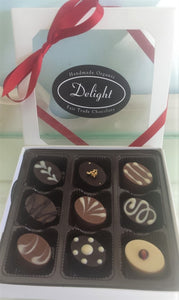 Delight Box of Nine Valentine's Day Chocolates