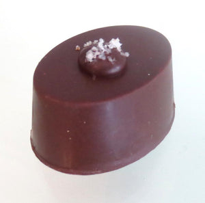 Walnut Chocolate With Fleur De Sel. Dairy Free