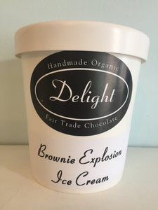Delight Brownie Explosion Ice Cream