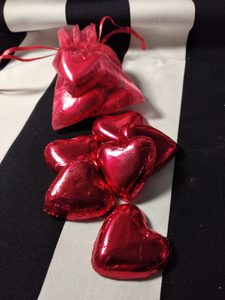 Delight Foil Wrapped Chocolate Valentine's Hearts.