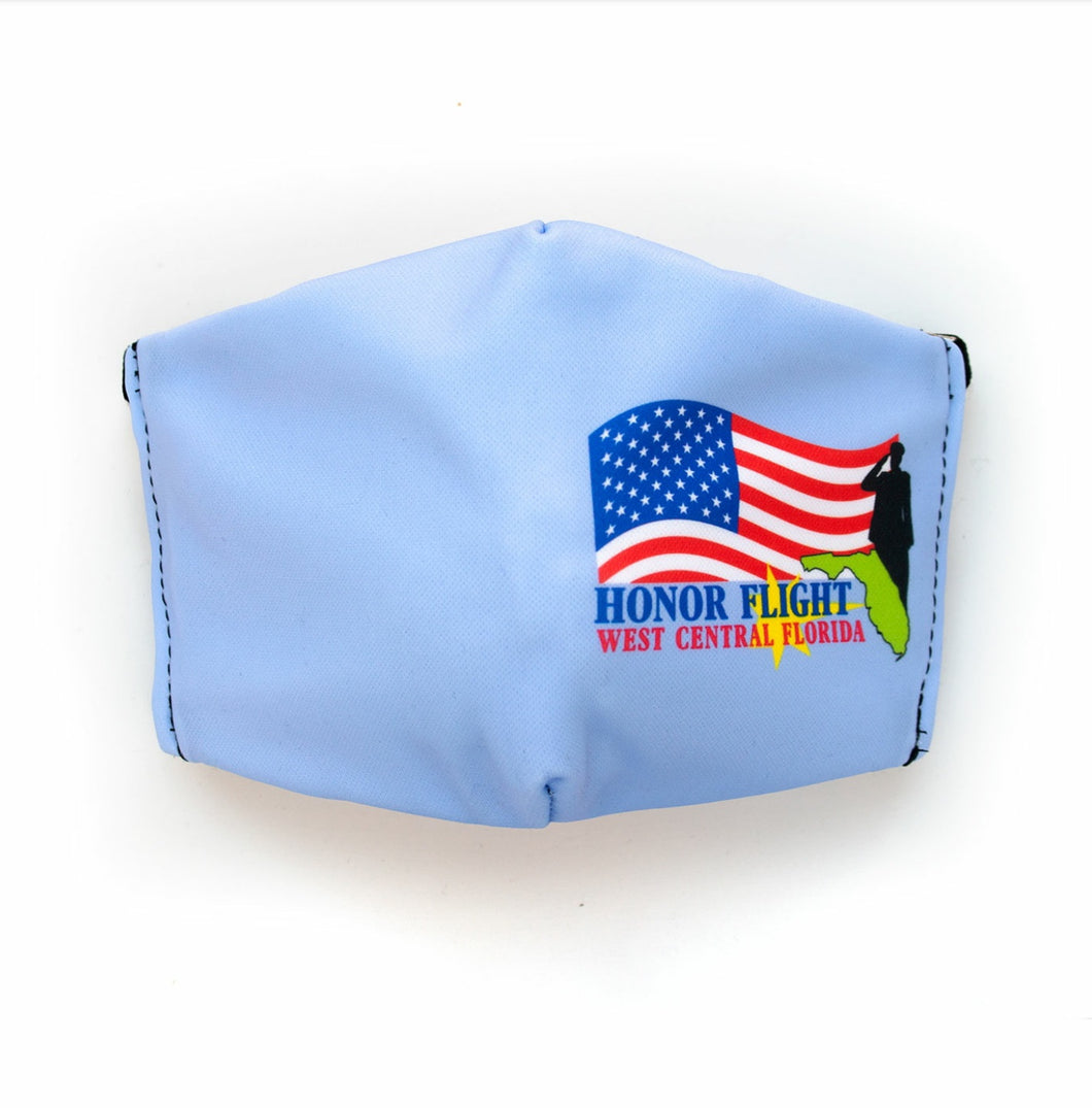 Honor Flight of West Central Florida Face Mask- Adult
