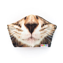 Load image into Gallery viewer, Chico Children's Museum Kitten: Art Print Face Mask- Child