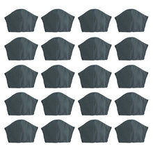 Load image into Gallery viewer, Grey 20 pack, Hand-Made Fabric Masks