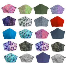 Load image into Gallery viewer, Assorted 20 pack, Hand-Made Fabric Masks