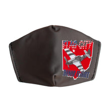 Load image into Gallery viewer, Flag City Honor Flight Face Mask Grey- Adult