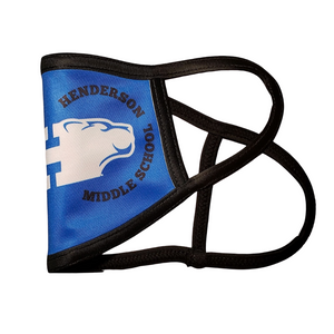 Business Logo Masks: Printed, Basic 2 Layer Mask with Ear Loops