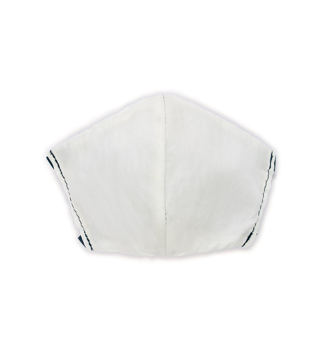 White 3 pack, Hand-Made Fabric Masks